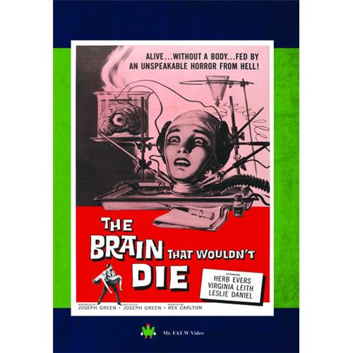 The Brain That Wouldn't Die DVD-5 889290083876