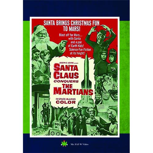 Santa Claus Conquers the Martians DVD-5 889290180681
