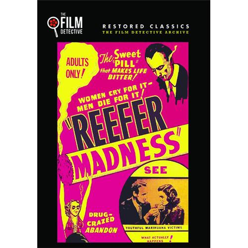Reefer Madness (The Film Detective Restored Version) DVD-5 889290225139