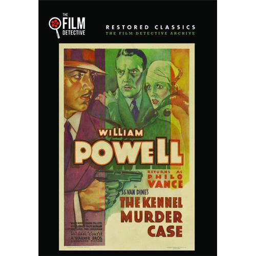 The Kennel Murder Case (The Film Detective Restored Version) DVD-5 889290390554