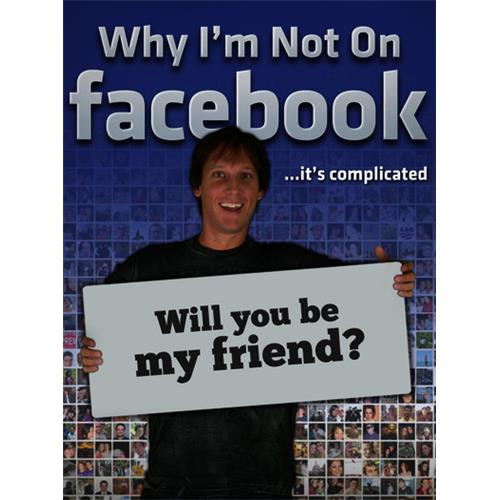 Why I'm Not on Facebook DVD-5 889290611277