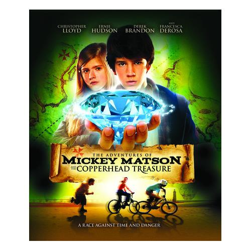 The Adventures of Mickey Matson and the Copperhead Treasure (BD) BD-25 889290936783