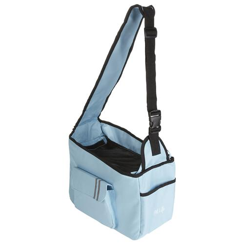 Fashion Back-Supportive Over-The-Shoulder Fashion Pet Carrier, Light