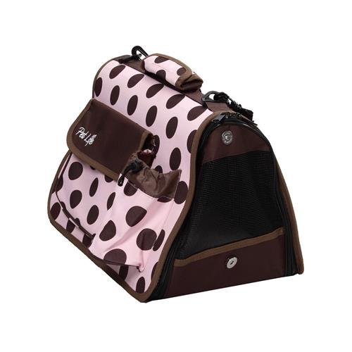 Airline Approved Folding Zippered Casual Pet Carrier,