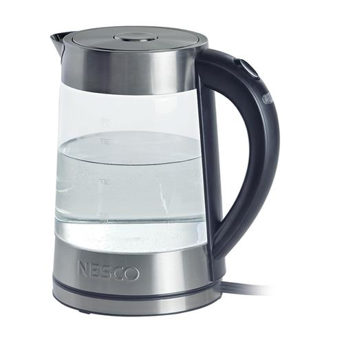 Click here for Nesco GWK-02 1.8 Quart Electric Glass Water Kettle prices