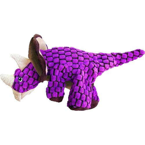 Kong Company Dynos Triceratops Large Pink