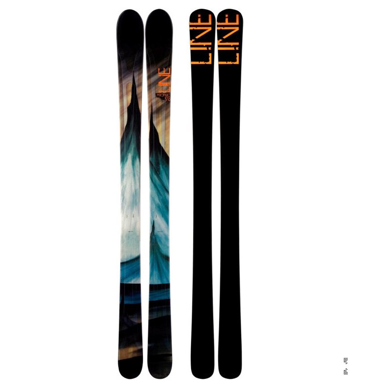 LINE PROPHET 98 Skis MEN 186 Twin Tip Early Rise NEW