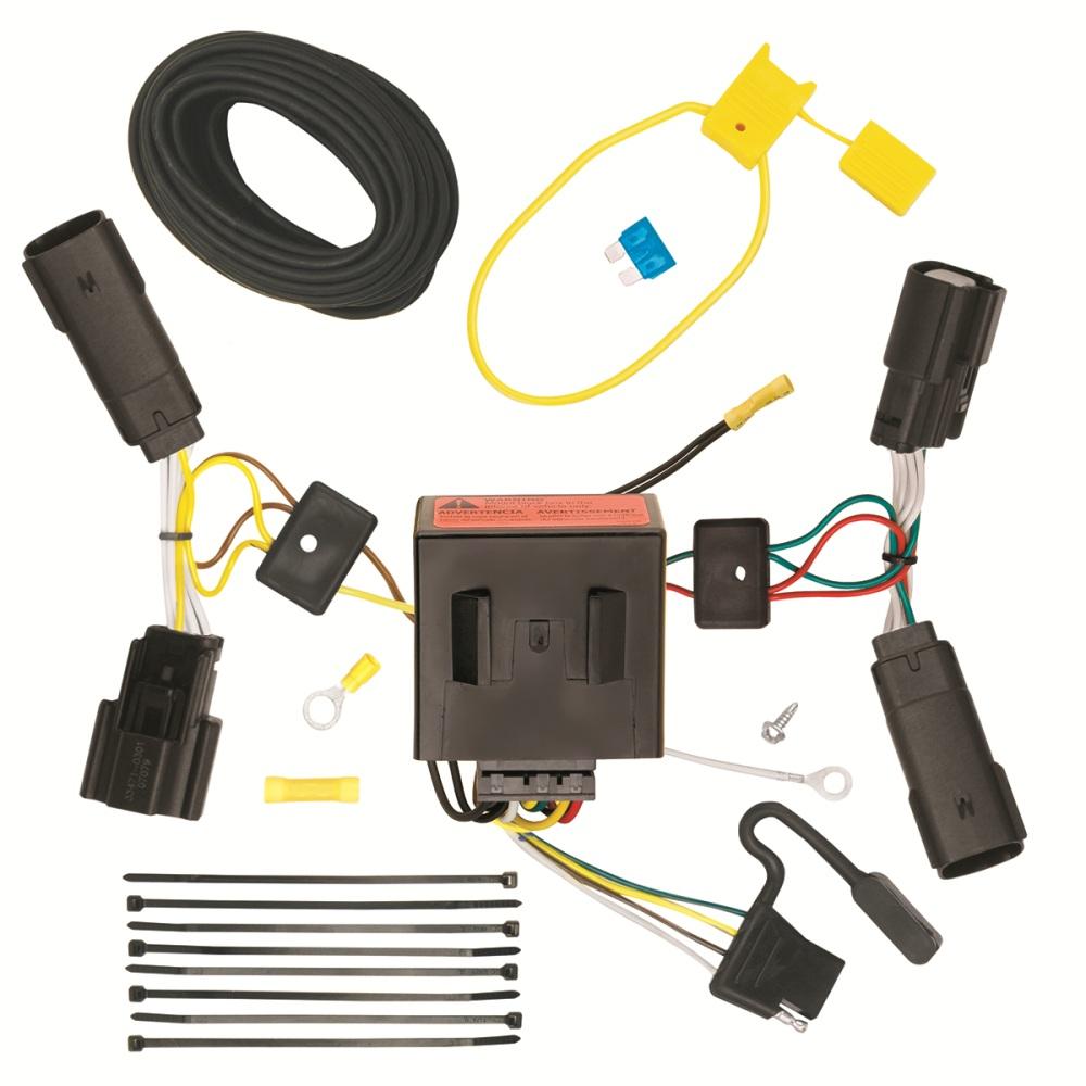 118515 tone trailer hitch wiring harness ford edge 20112014 | ebay