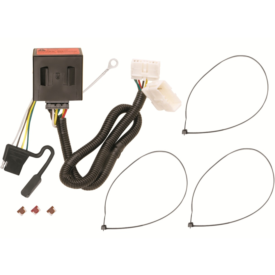 118521 t one trailer hitch wiring harness for honda. Black Bedroom Furniture Sets. Home Design Ideas