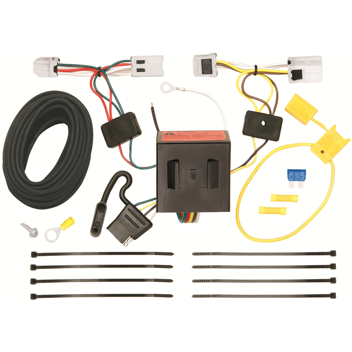 Tow Hitch Wiring Harness Diagram 19962000 Toyota Rav4 Reese Tconnector 78025 118553 T One Trailer For Nissan Nv 2012 Ebay Install Schematic