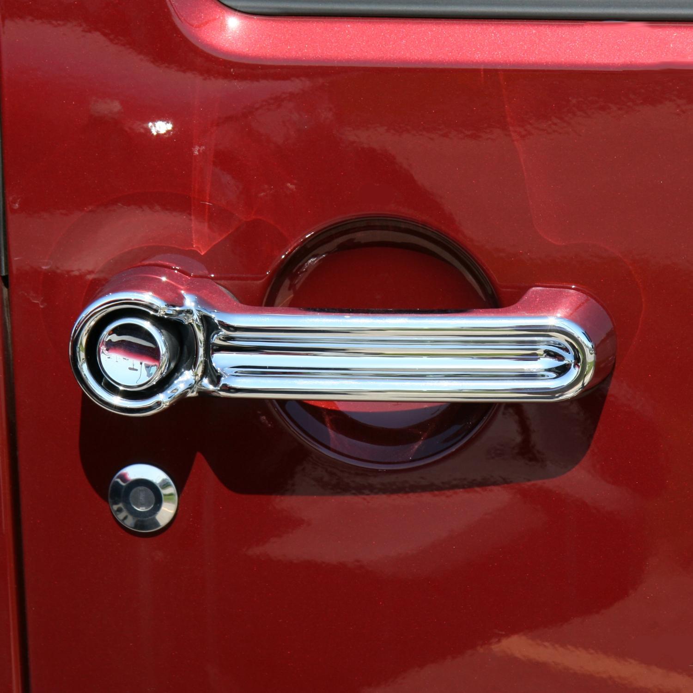 401046 Putco Chrome Door Handle Covers Dodge Nitro Jeep