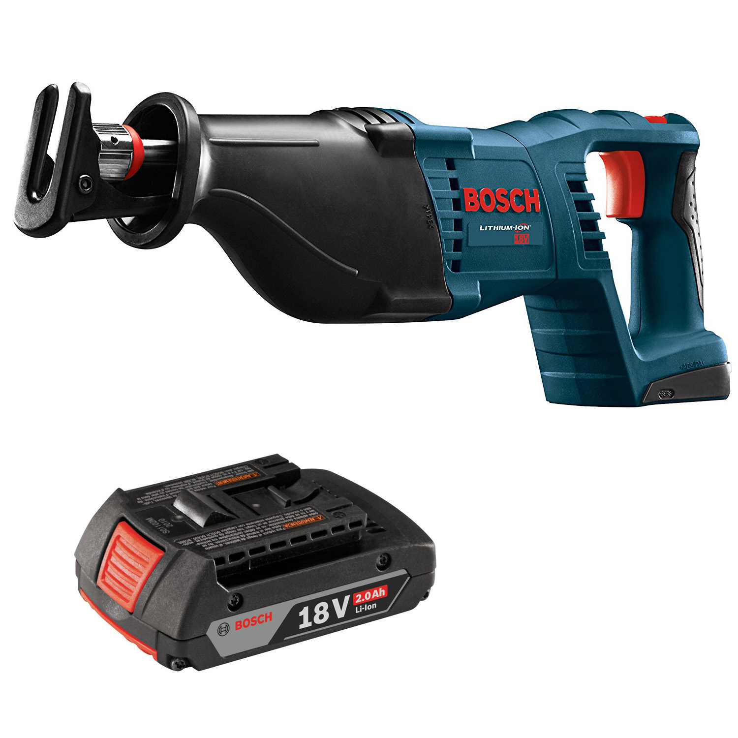 bosch crs180b rt 18 volt li ion cordless reciprocating saw. Black Bedroom Furniture Sets. Home Design Ideas