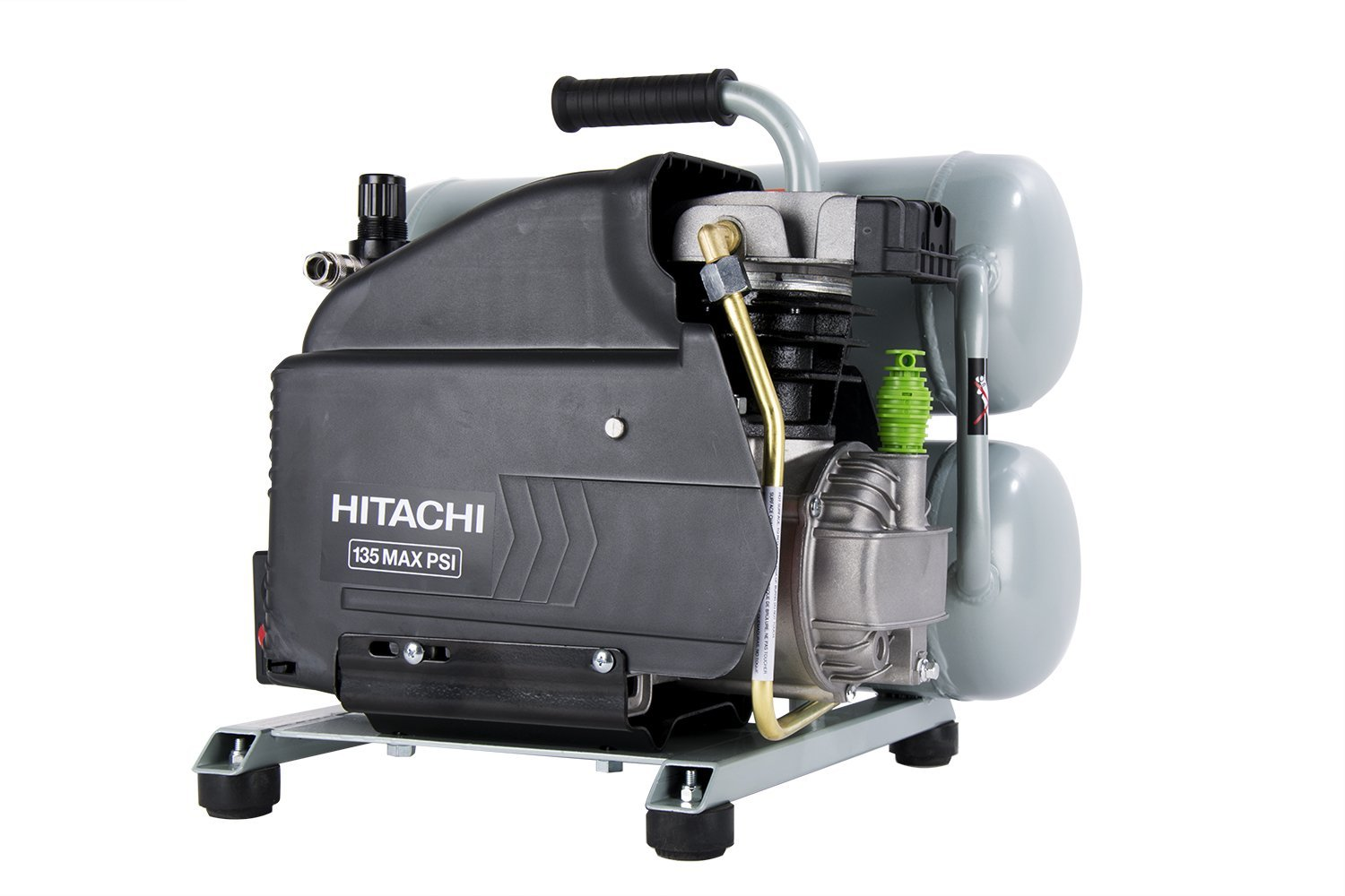 Hitachi Ec99s 4 Gal Portable Electric Air Compressor