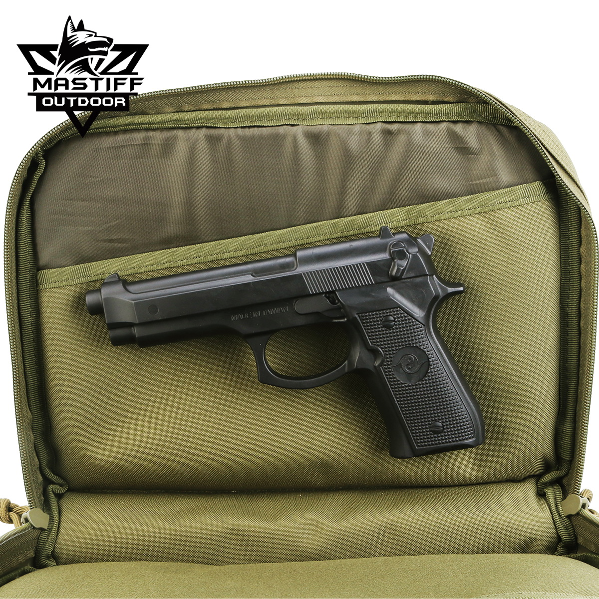 thumbnail 33 - Tactical-Pistol-Case-Handgun-Bag-Hunting-Shooting-Range-Magazine-Pouch