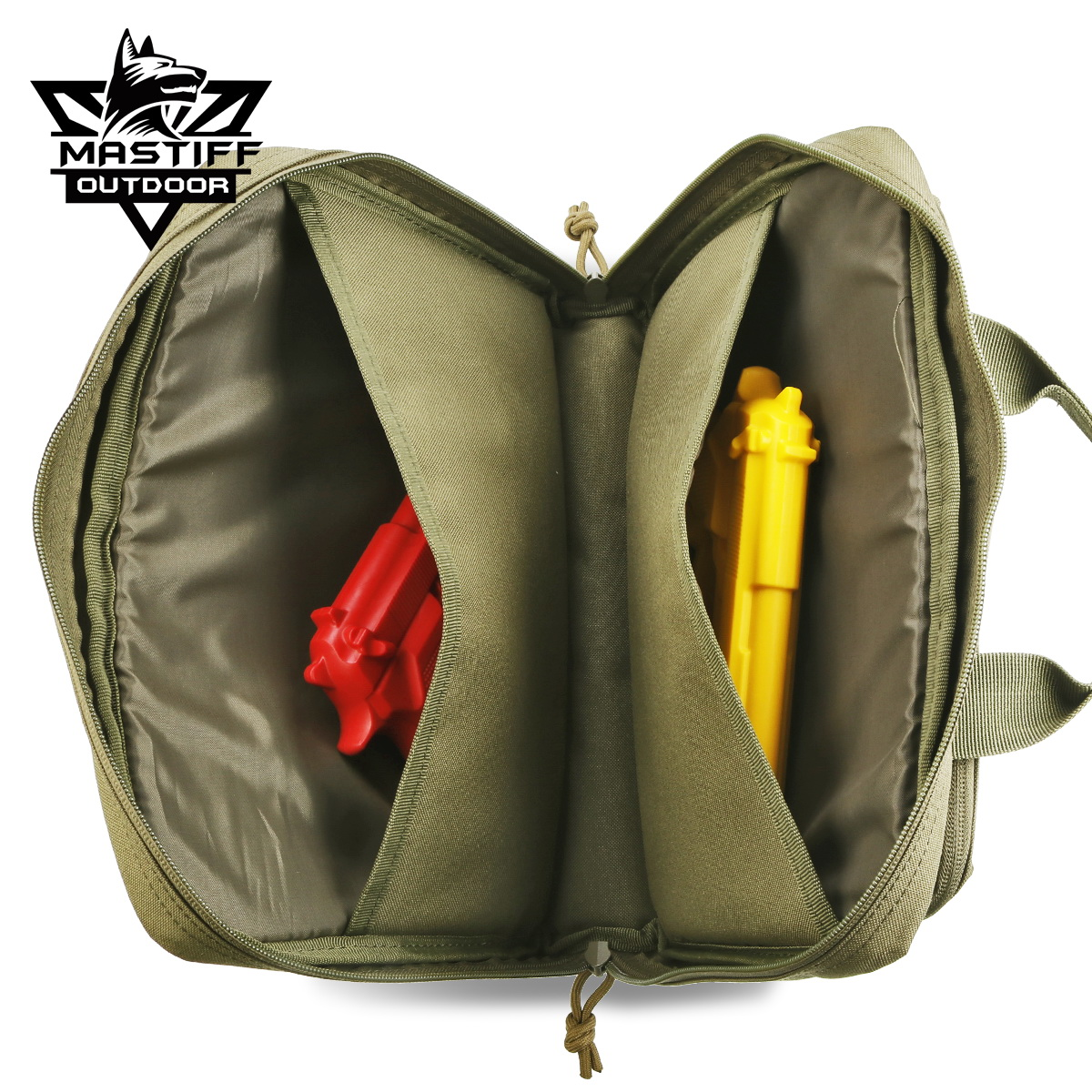 thumbnail 34 - Tactical-Pistol-Case-Handgun-Bag-Hunting-Shooting-Range-Magazine-Pouch