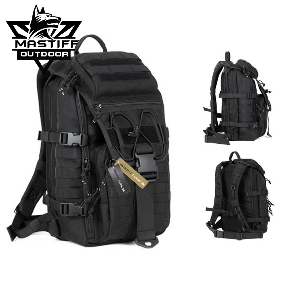 93a12f0e1 Mastiff Outdoor Tactical Venture Backpack Military MOLLE Camping ...