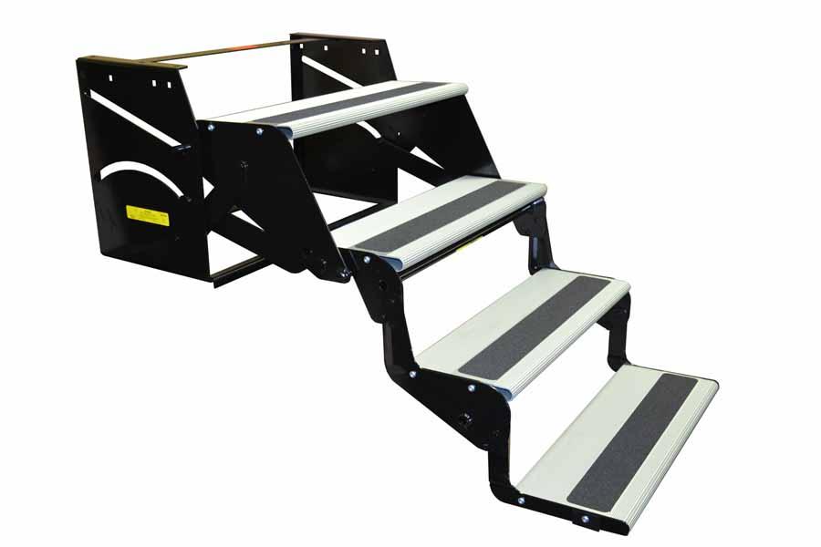 27 Drop//Foldaway Entry Step Elkhart Tool RV Motorhome Camper Trailer 24 Quad Step