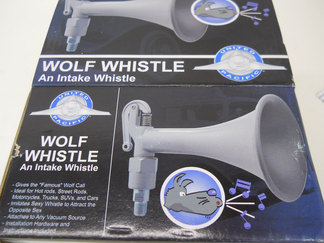 Vintage Car Truck Hot Rod Wolf Whistle Horn Kit Intake Whistle