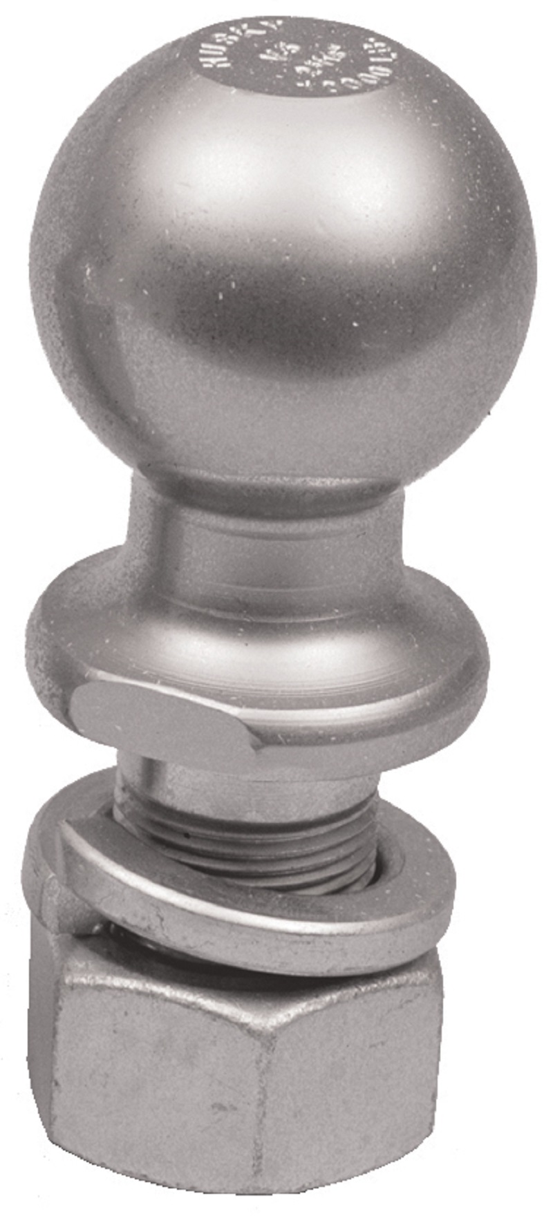 """2-5//16/"""" Plated Steel Trailer Hitch Ball 6000lbs Boat RV Camper Trailer Towing"""