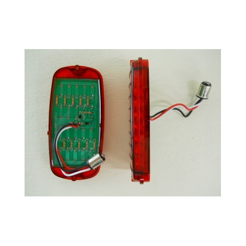 1966 chevy tail light diagram 1955 chevy tail light wiring harness 1960 - 1966 chevy truck fleetside led stopturn tail lights ...