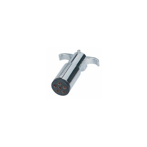 6 Way Round Split Pin Plug    Trailer Harness Wiring Plug