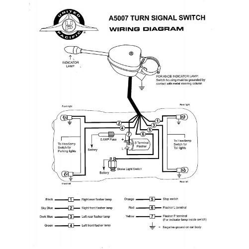 Golf Cart Turn Signal Switch Wiring Diagram - Wiring