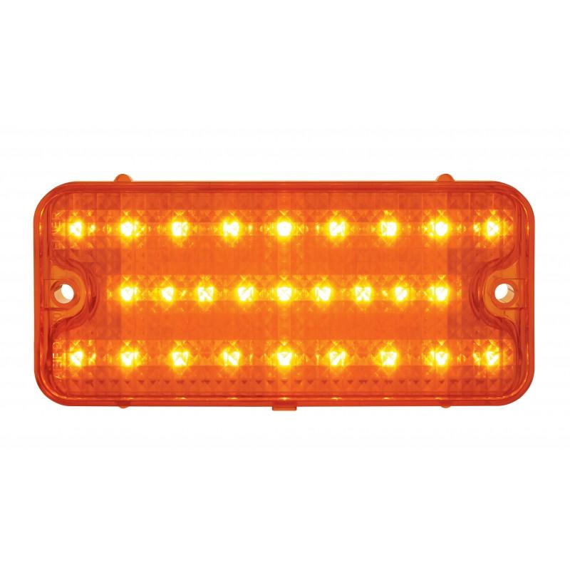Led Strobe Lights For Trucks >> (2) 1967 1968 Chevy Chevrolet Truck Amber LED Park Running ...