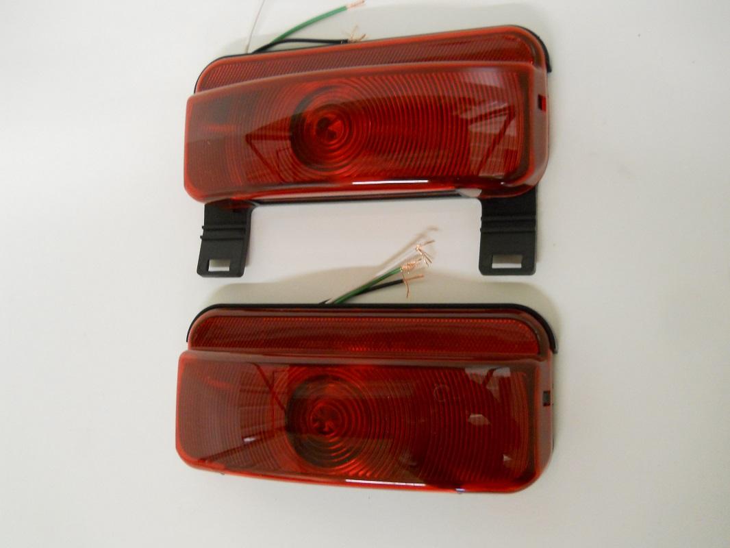 2 Rv Camper Trailer Stop Turn Brake Tail Lights