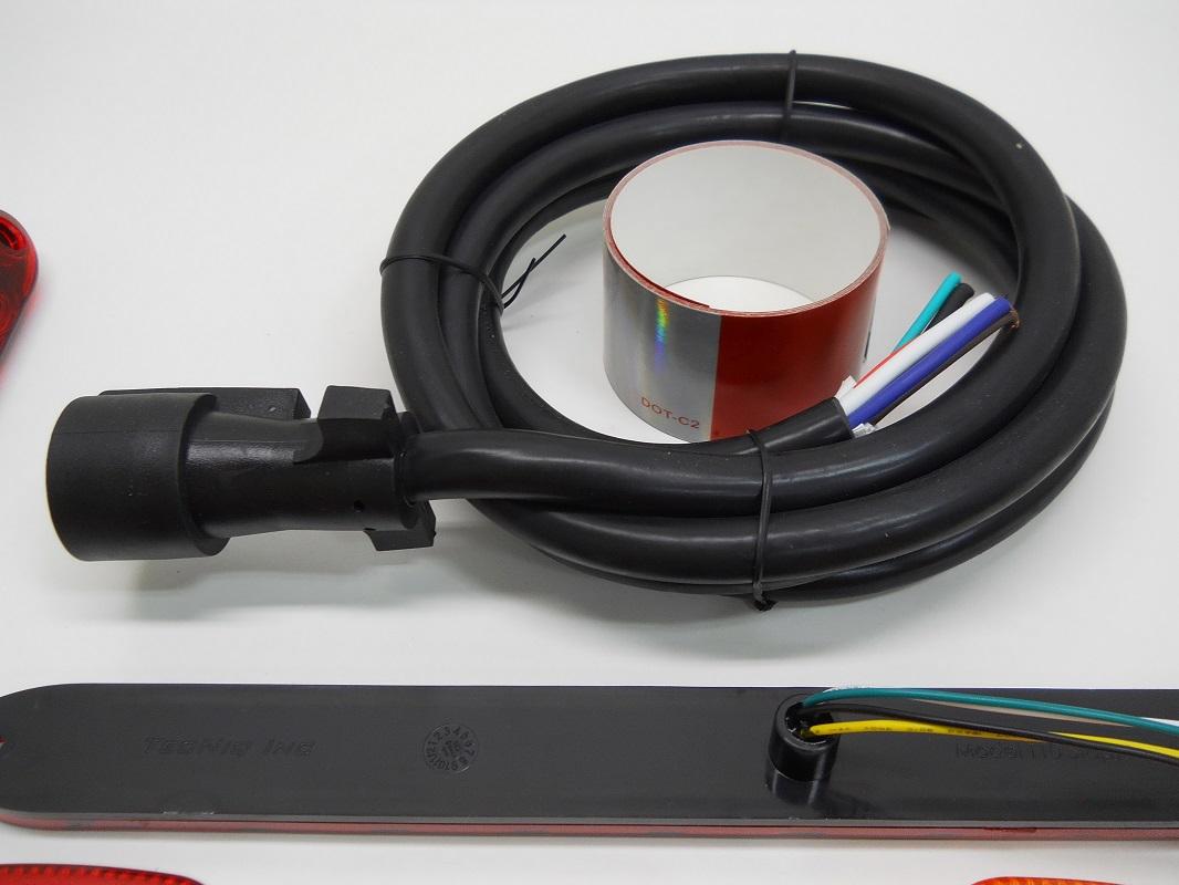 Trailer Lights Wiring Diagram On Led Light Bar Wiring Loom Diagram