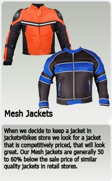 mesh jackets