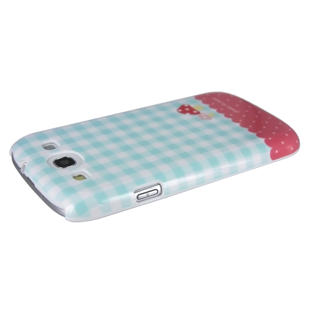 Femme Case for Galaxy S3 (Little Things, Green with Mushroom)