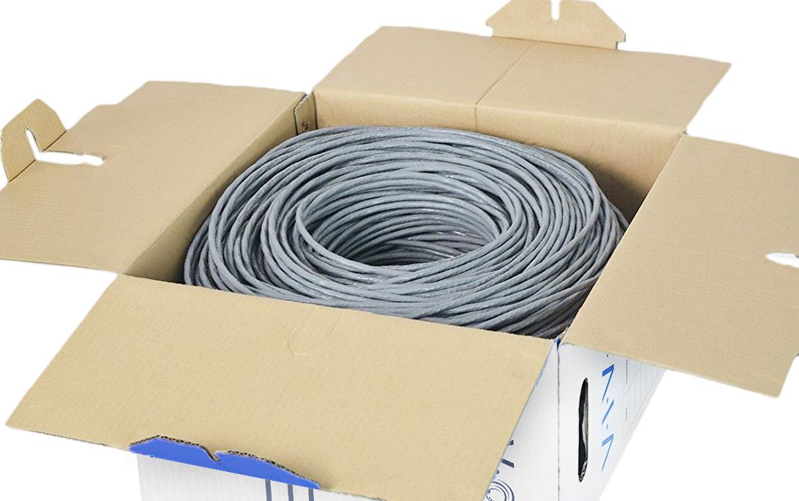 Vivo 1000ft Bulk Cat6 Lan Ethernet Cable Wire Utp Pull Box 1000 Ft Wiring Item Sku V009