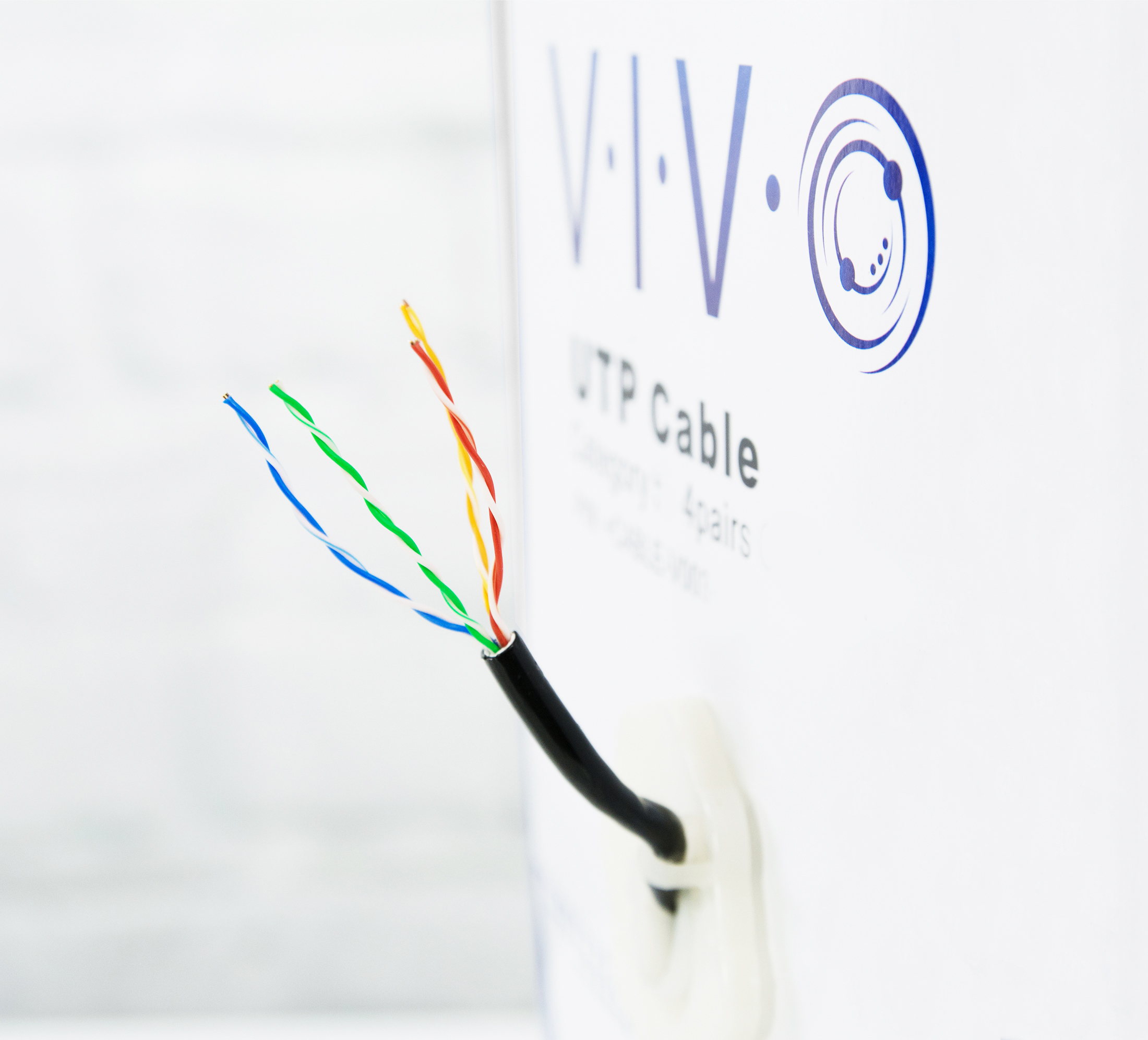 Vivo 500ft Cat6 Lan Network Ethernet Cable Wire Cat 6 Waterproof Wiring Item Sku V012