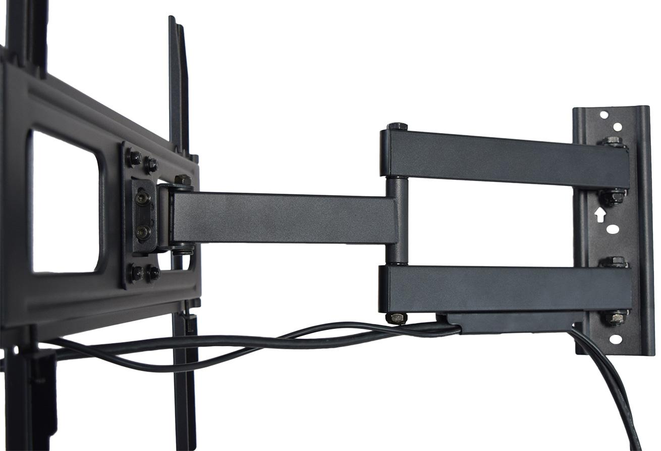 vivo articulating tv wall mount vesa stand for lcd led plasma screen 32 to 55 cad. Black Bedroom Furniture Sets. Home Design Ideas