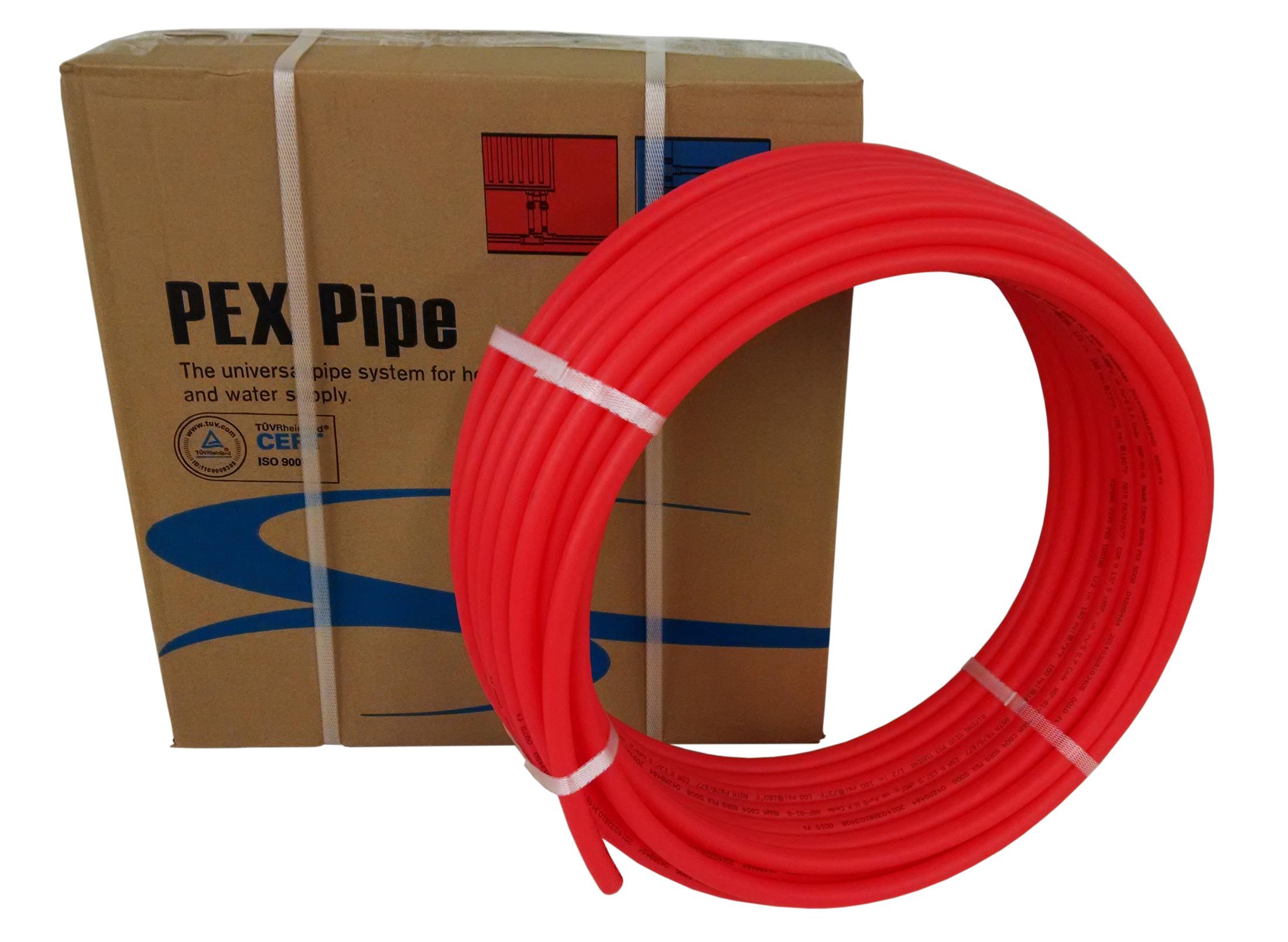 "1/2"" X 300ft Red Pex Tubing/Pipe Pex-B 1/2-inch 300 Ft"