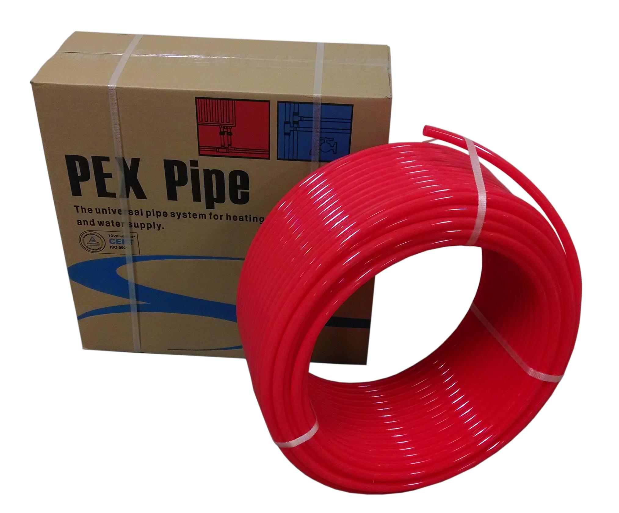 1/2  x 1000ft Pex Tubing Oxygen Barrier O2 EVOH Red 1000 ft Radiant Floor Heat  sc 1 st  eBay & 1/2