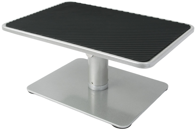 universal height adjustable ergonomic computer monitor and laptop riser stand ebay. Black Bedroom Furniture Sets. Home Design Ideas