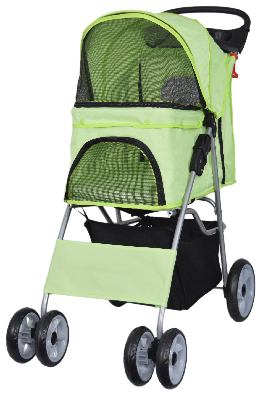 Vivo 4 Four Wheel Pet Stroller Cat Amp Dog Foldable