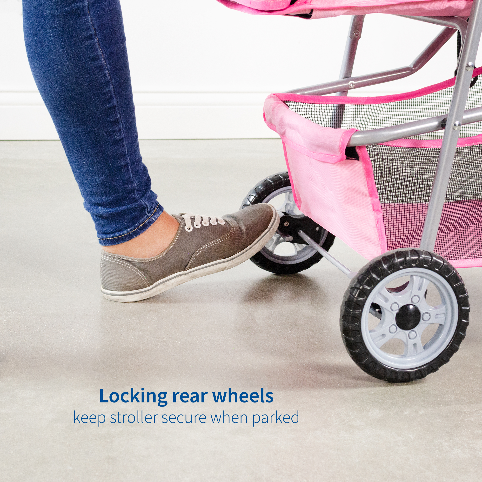 thumbnail 21 - VIVO Three Wheel Pet Stroller / Cat & Dog Foldable Carrier Strolling Cart