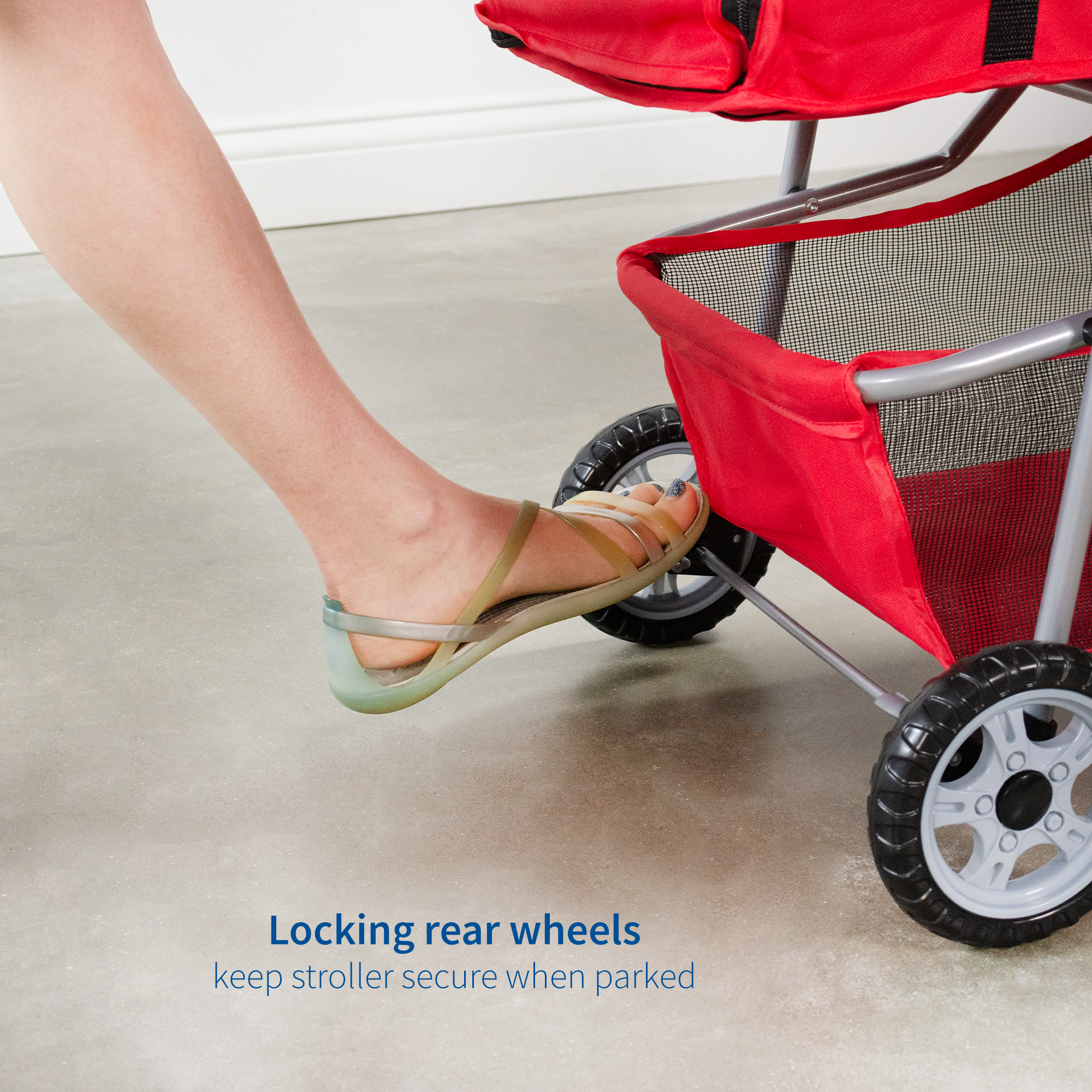 thumbnail 30 - VIVO Three Wheel Pet Stroller / Cat & Dog Foldable Carrier Strolling Cart