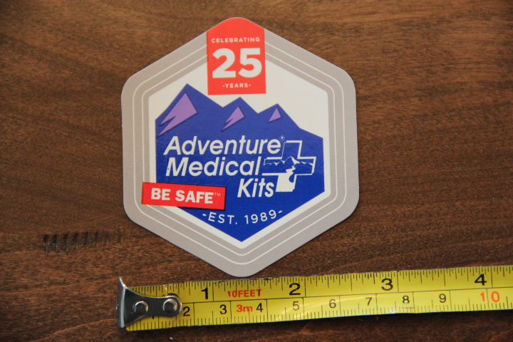 ADVENTURE MEDICAL KITS 25 Years STICKER DECAL New