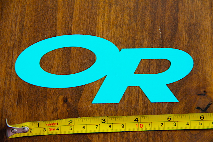 Details About OUTDOOR RESEARCH Gear STICKER DECAL New OR BLUE DIE CUT