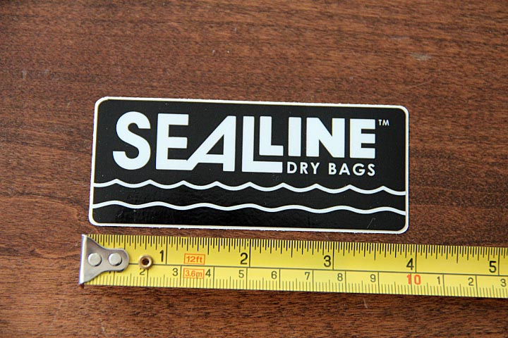 SEAL LINE Dry Bags STICKER Decal NEW Black