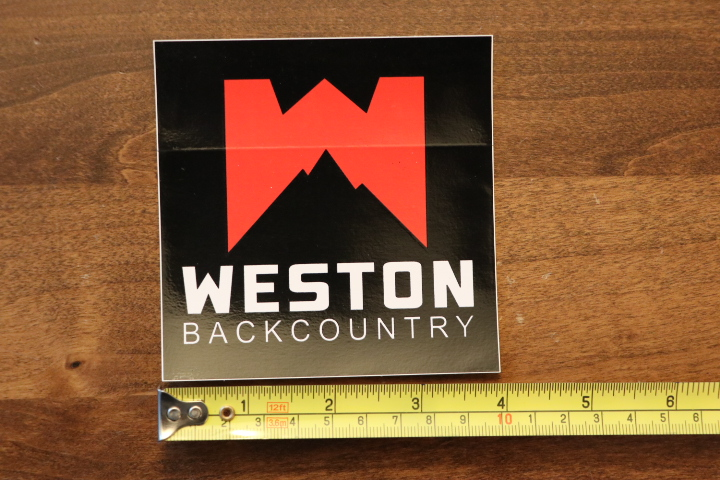 BLACK DIAMOND STICKER Decal NEW Backcountry Skiing BIG DUMPS Outhouse