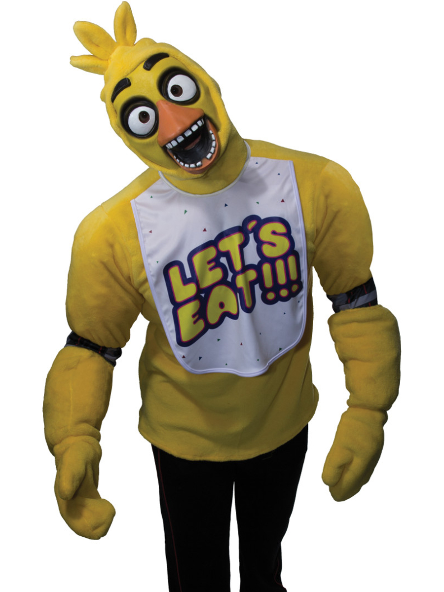 5 Nights At Freddy's Chica details about adult five nights at freddy's plush chica costume top  survival horror game