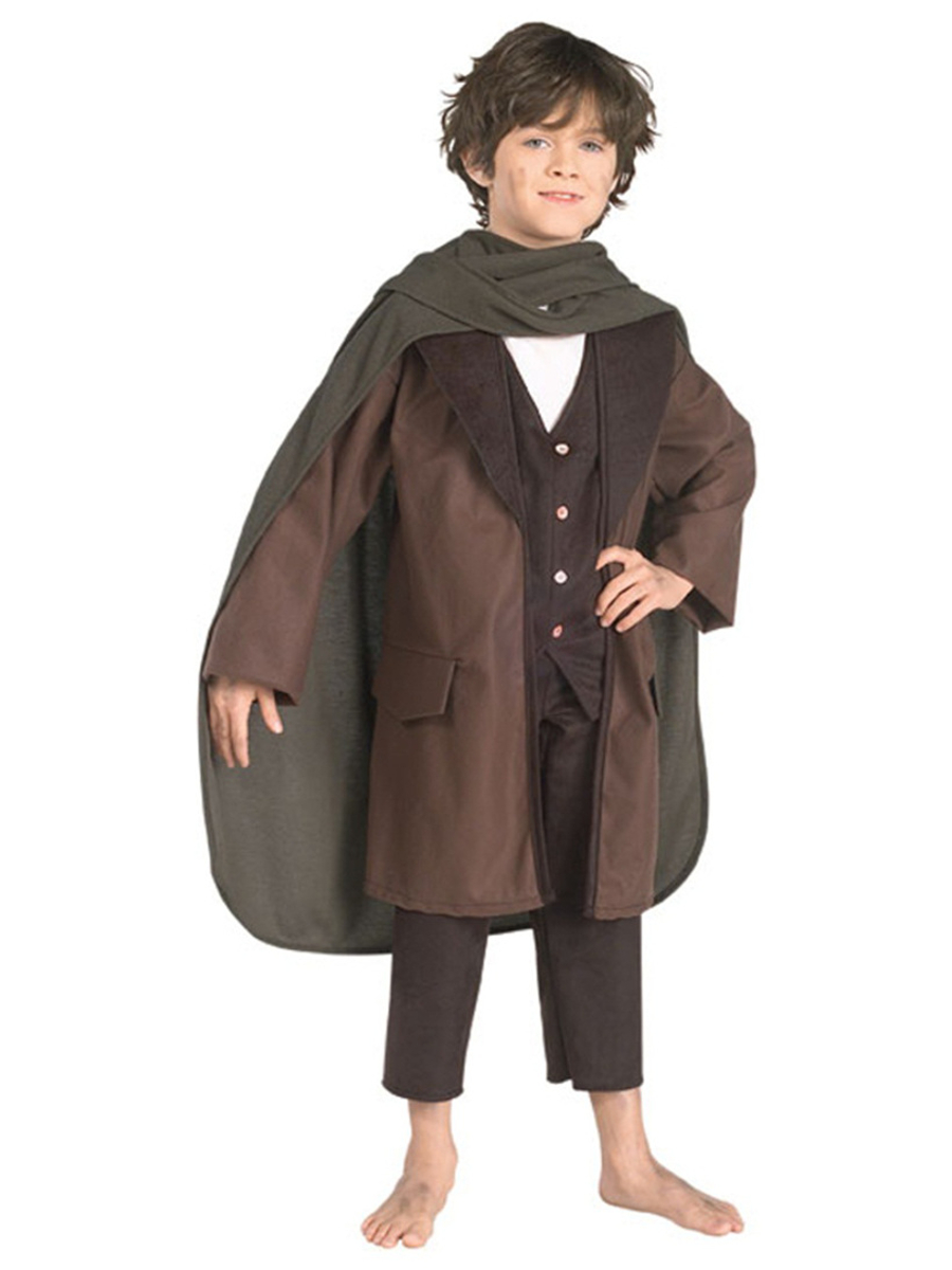 Lord of the Rings Cosplay Frodo Baggins clothing cloak jacket full set