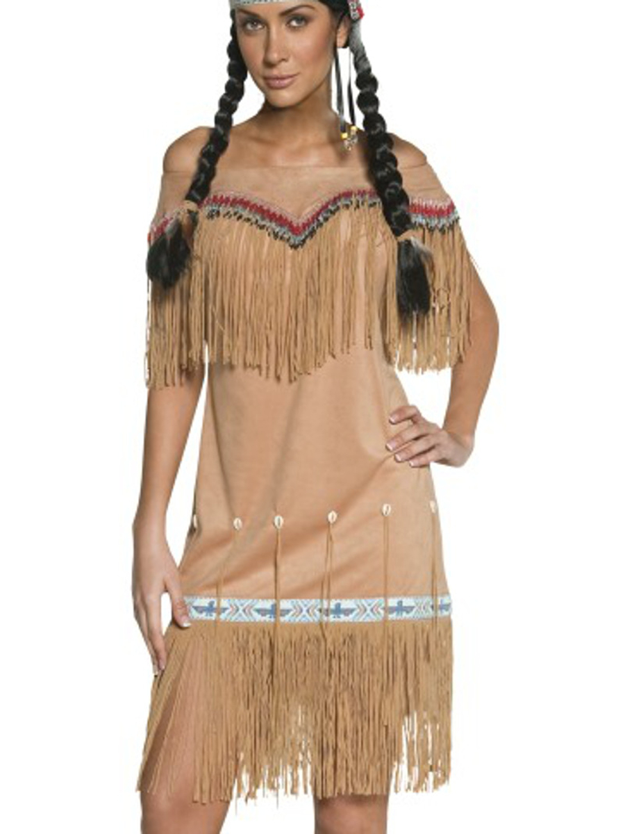 Details about Adults Women's Sexy New World Native American Indian Lady  Costume X-Large 18-20