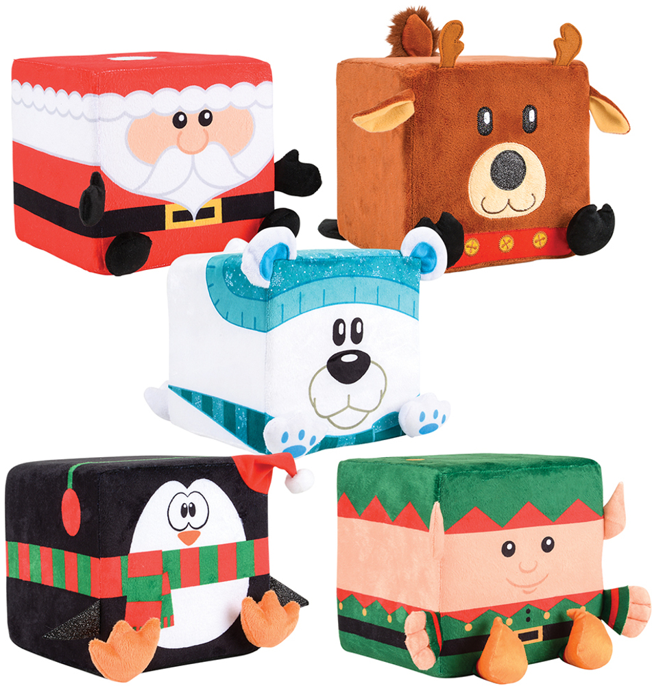 Christmas Cube Characters