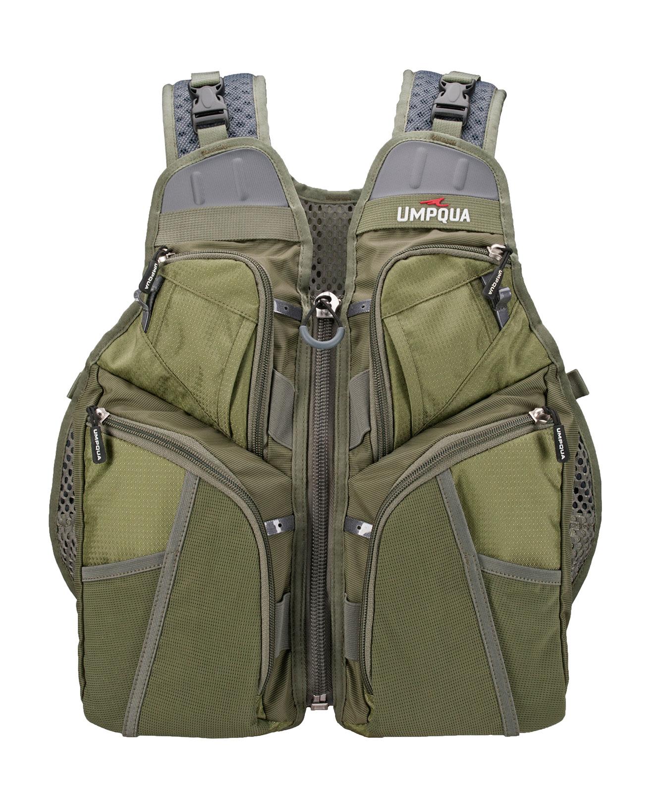 Umpqua Toketee Fly Fishing Tech Pack Vest Wading Apparel Gear | eBay