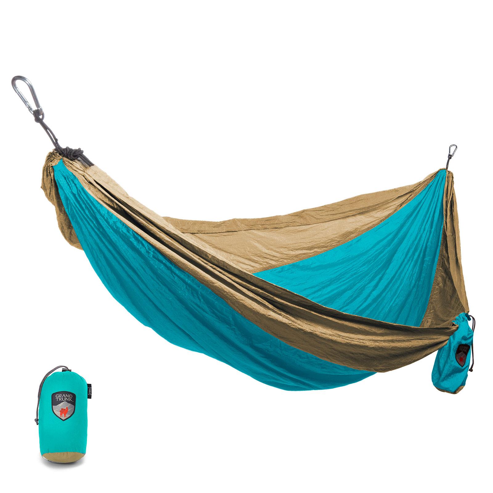 Grand Trunk Single Parachute Nylon Hammock Outdoor Camping Travel